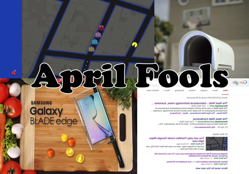 Top 10 April fools' day pranks 2015